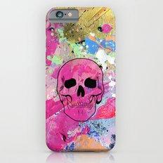 Skull collage iPhone 6s Slim Case