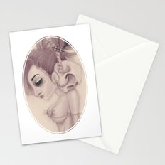 dearpain +Cold Audibility+ Stationery Cards