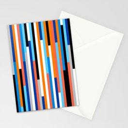 Modern Stripe Stationery Cards