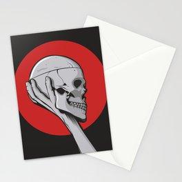 Skull Hamblet  Stationery Cards