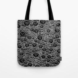 Calaveras (black background) Tote Bag