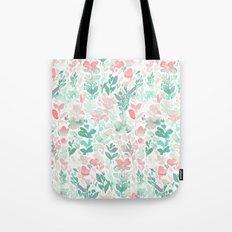 Flirt Mint Blush Tote Bag