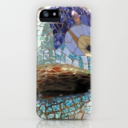 Gaudi's Lizard iPhone Case