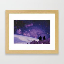 We Are All Connected Framed Art Print