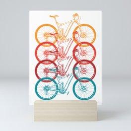 Colorful Bicycle Mini Art Print
