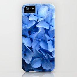 Nantucket Blue Hydrangea Flower iPhone Case