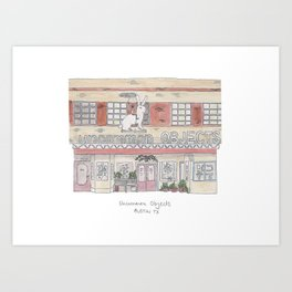 The Austin Collection: Uncommon Objects Art Print