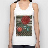 history Tank Tops featuring History layers by Menchulica