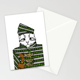 Malayan Kitty in Colour Stationery Cards
