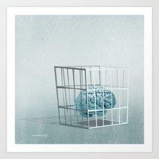 caged... Art Print