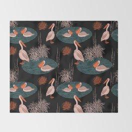 BIRDS IN PARADISE Throw Blanket