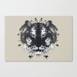 The Secret Jungle Canvas Print