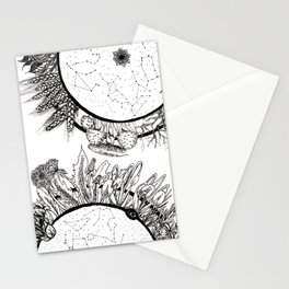 Cosmic Wheel Stationery Cards
