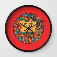 circle Wall Clocks featuring Circle by Brad Hansen