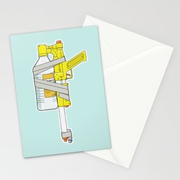 Child Friendly Flamethrower Stationery Cards