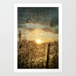 Sunset Dews Art Print