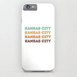 Kansas City iPhone Case