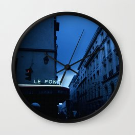 Le Pont Wall Clock