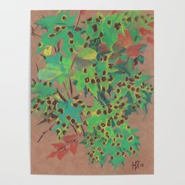 Dotty leaves Poster