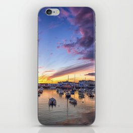 Portrush Harbour,Ireland,Northern Ireland iPhone Skin