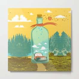 DREAM BOTTLE Metal Print