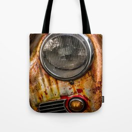 Rusty old Porsche Tote Bag