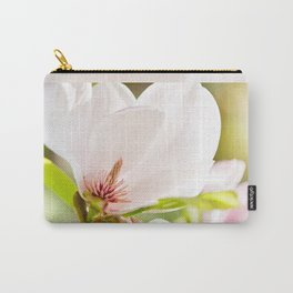 Magnolia sepal flowering macro Carry-All Pouch