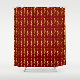 Symbol of dollar 2 Shower Curtain