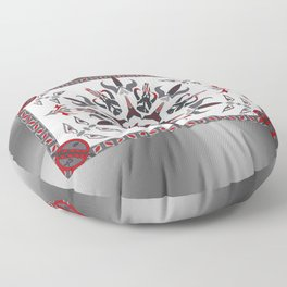 Mando'ade Darasuum (gradient background) Floor Pillow