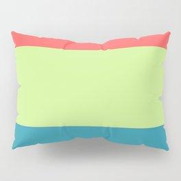 happy color block Pillow Sham