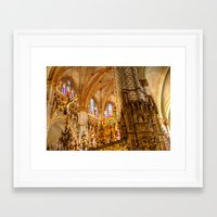 ornate Framed Art Prints featuring Ornate by John Hinrichs