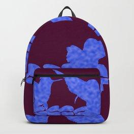 Purple Hummingbirds on Ultraviolet Line Backpack