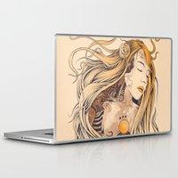 sleeping beauty Laptop & iPad Skins featuring Sleeping Beauty by Azrhon