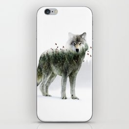 Wild I Shall Stay | Wolf iPhone Skin