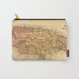 Map Of Jamaica 1893 Carry-All Pouch