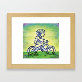 Bicycle 1 Framed Art Print