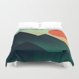 World to see Duvet Cover