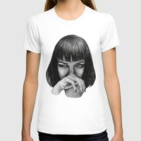 mia wallace T-shirts featuring Mia Wallace by Rebecca Hådell