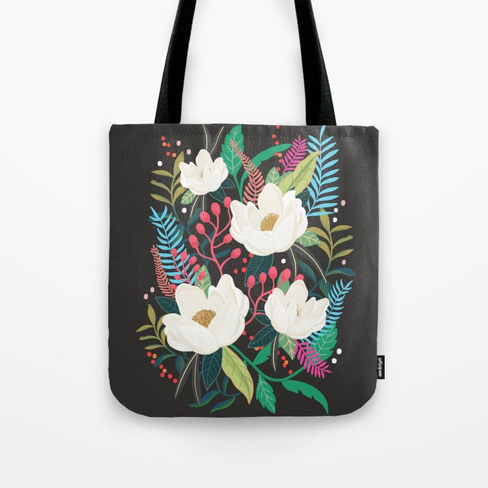 The Garden of Alice, flower, floral, blossom art print Tote Bag