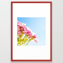 Pink Tan Framed Art Print