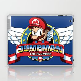 Jumpman the Plumber Laptop & iPad Skin