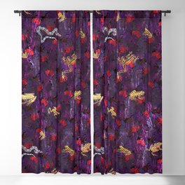 Shining Jungle Jam Blackout Curtain