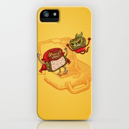 Lunchadores iPhone Case