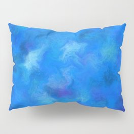 Denitamessa - deep blue world Pillow Sham
