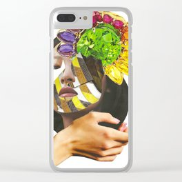 Papecollage Take your Pride by Lenka Laskoradova Clear iPhone Case