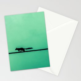 Squirrel on High Stationery Cards