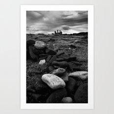 Castle rocks Art Print