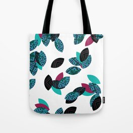 Aztec leafs Ioo Tote Bag