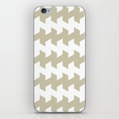 jaggered and staggered in tidal foam iPhone & iPod Skin