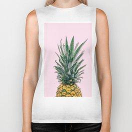pink pineapple Biker Tank